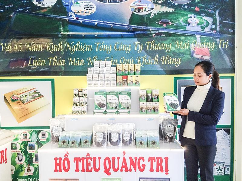 Hồ tiêu là sản phẩm nổi tiếng của tỉnh Quảng Trị được đông đảo người tiêu dùng đón nhận - Ảnh: Đ.T