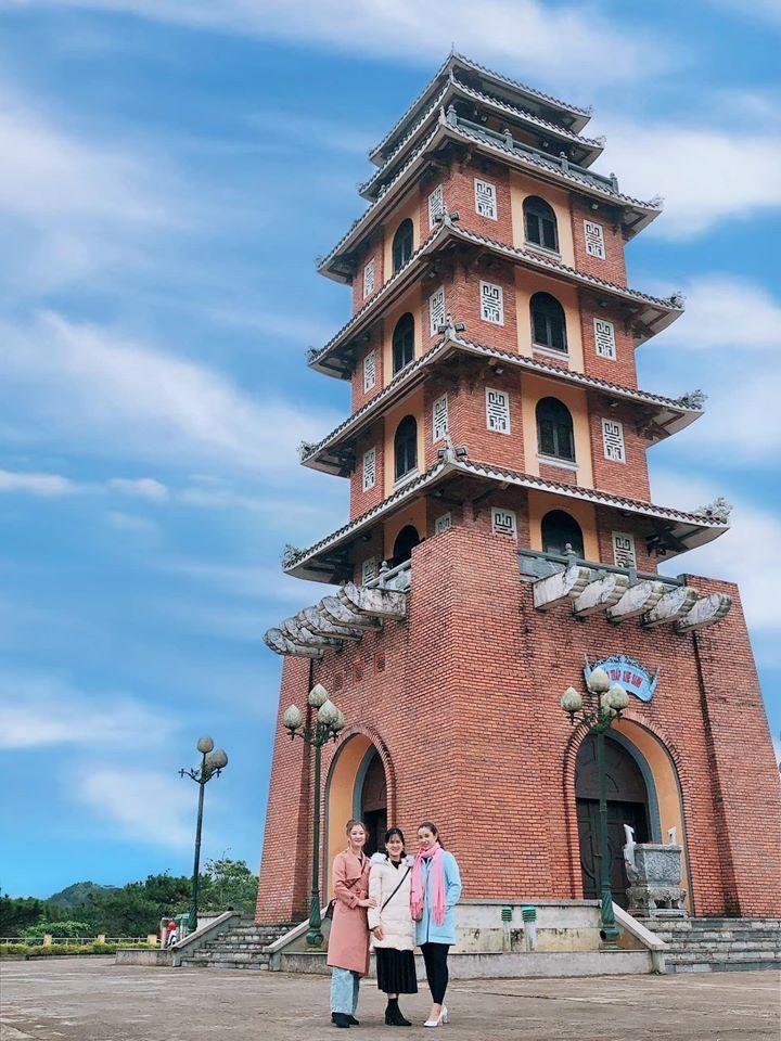 Bảo tháp Khe Sanh. Ảnh: Nguyễn Ngọc Lân