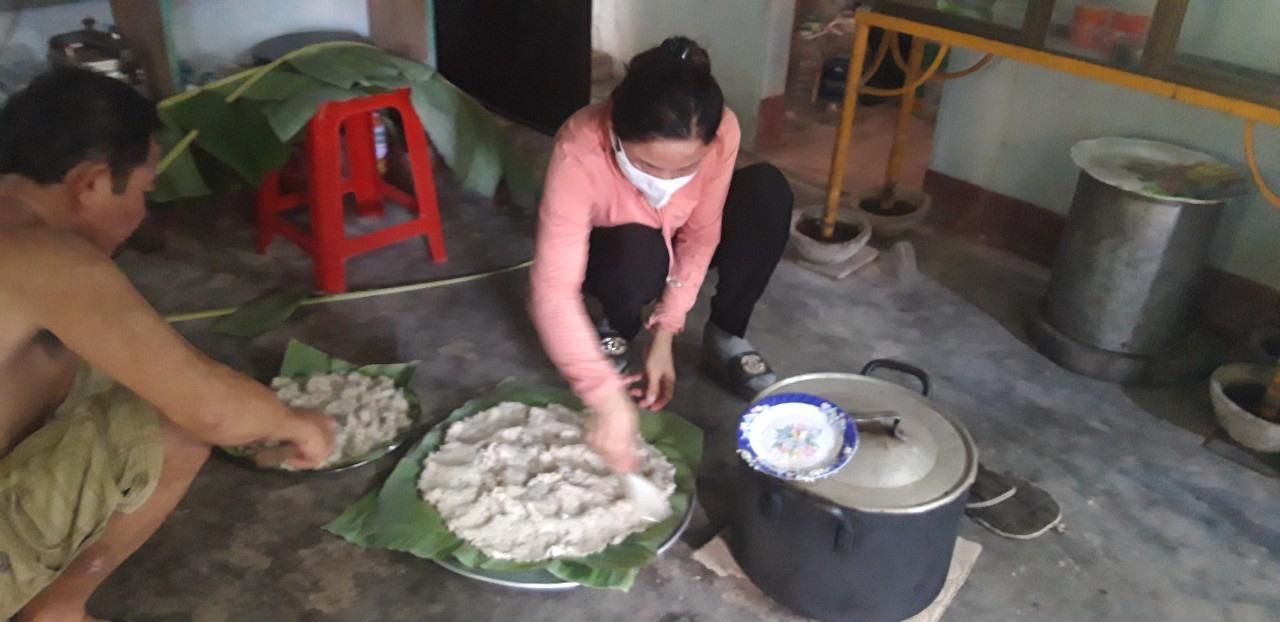 Món cháo đúc, chủ yếu dùng trong các ngày giỗ chạp của gia đình, dòng họ.