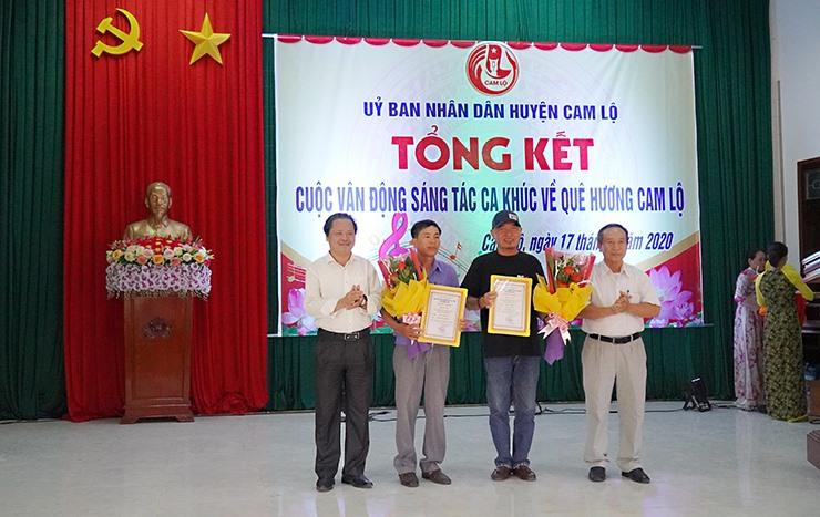 BTC trao giải ba cho các tác giải đạt giải